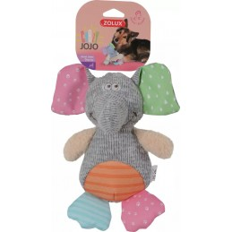 Zolux - Zabawka Crazy Jojo Słoń - pluszowa z dźwiękiem