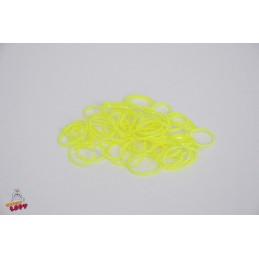 Neonowe gumki lateksowe 50 szt