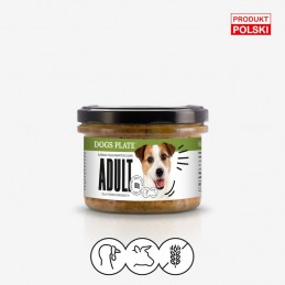 Dogs Plate Adult 180g -...