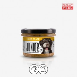 Dogs Plate - Junior 180g -...