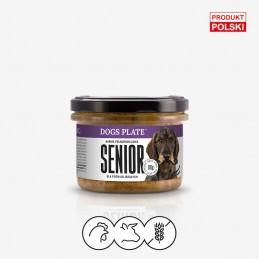 Dogs Plate - Senior 180g -...