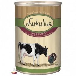 Lukullus - wołowina i indyk - 400g