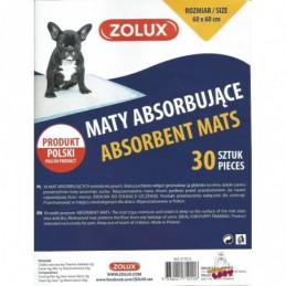 Zolux - Podkłady higieniczne dla zwierząt - 60x60cm 30szt.