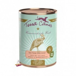 Terra Canis - Menu Bezzbożowe - Indyk z selerem