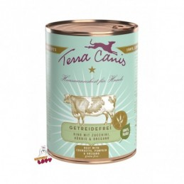 Terra Canis - Menu Bezzbożowe - Wołowina z cukinią