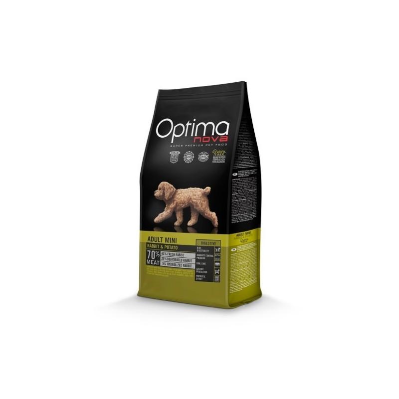 Optimanova Puppy Digestive Rabbit & Potato 0