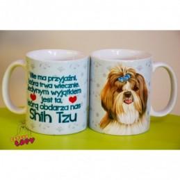 Kubek z rasą psa - Shih Tzu
