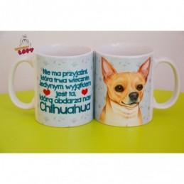 Kubek z rasą psa - Chihuahua