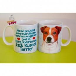 Kubek z rasą psa - Jack Russell Terrier