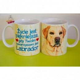 Kubek z rasą psa - Labrador