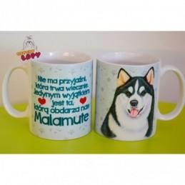 Kubek z rasą psa - Malamute