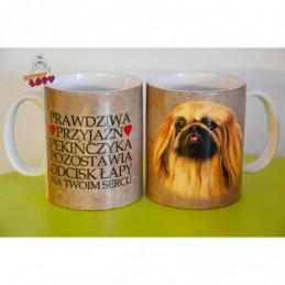 Kubek z rasą psa - Pekińczyk