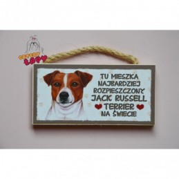 Magnes z rasą psa - Jack Russell Terrier