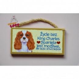 Magnes z rasą psa - King Charles Spaniel