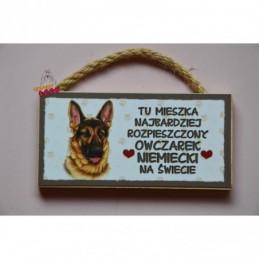 Magnes z rasą psa - Owczarek Niemiecki