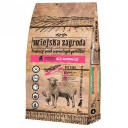 Wiejska Zagroda - Jagnięcina ze szpinakiem 9kg dla szczeniąt