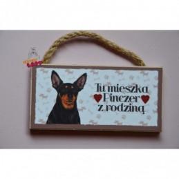 Magnes z rasą psa - Pies Pinczer
