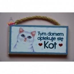 Magnes z kotem - Kot biały