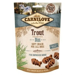 Carnilove Przysmak 200g Snack Fresh Soft Trout+Dill