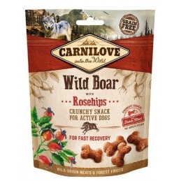 Carnilove 200g Snack Fresh Crunchy Wild Boar+Rosehips