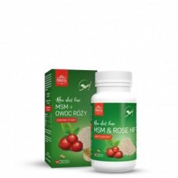 Pokusa - MSM & owoc dzikiej róży 120 tabletek