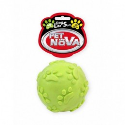 Pet Nova - TPR SoundBall Yellow 6cm
