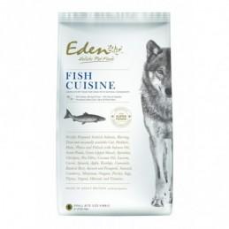 Zobacz większe EDEN FISH CUISINE 2 KG – Karma dla Szczeniaków i Psów Dorosłych Łosoś i Śledź  - Rasy Małe