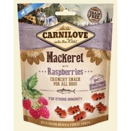 Carnilove 200g Snack Fresh Crunchy Mackerel+Raspberries