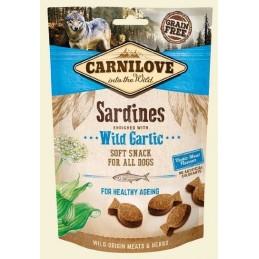 Carnilove 200g Snack Fresh Soft Sardines+Wild Garlic