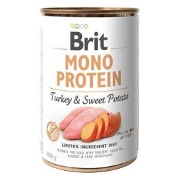 Brit Mono Protein Turkey & Sweet Potato - Indyk i słodkie ziemniaki 400g