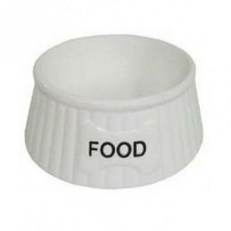 Yarro - Miska ceramiczna Food biała 15