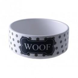 Yarro - Miska ceramiczna Woof szara