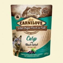 Carnilove Dog Puch Carp&Black Carrot - Karp z czarną marchwią.