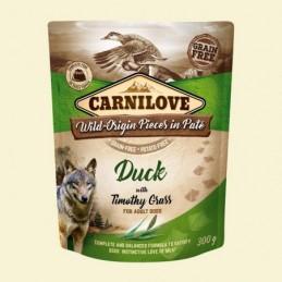 Carnilove Dog Puch Duck&Timothy Grass  300g Kaczka z tymotką łąkową