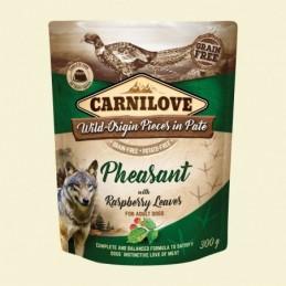 Carnilove Dog Puch Pheasant&Raspberry 300g Bażant z liśćmi maliny