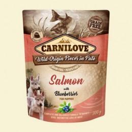 Carnilove Dog Puch Salmon&Blueberries Puppies 300g Łosoś z jagodami
