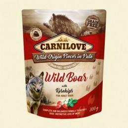 Carnilove Dog Puch Wild Boar&Rosehips 300g Dzik z owocami dzikiej róży