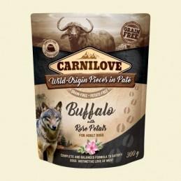Carnilove Dog Puch Wild Buffalo&Rose Petals 300g Bawół z płatkami róży