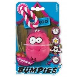 Coockoo - Bumpies Lina - S - różowa/truskawka 7x5