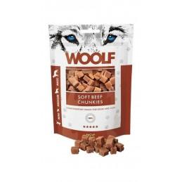 Woolf - Soft Beef Chunkies 100g - Kawałki wołowiny