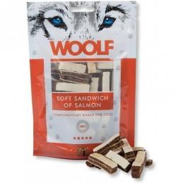 Woolf - Soft Sandwich of Salmon 100g - Kostki z łososiem i dorszem