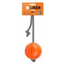 Liker Cord 7cm - Piłka na linie dla psów średnich ras
