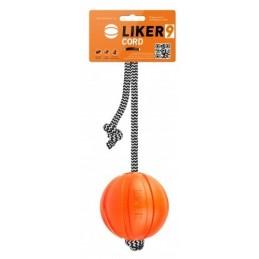 Liker Cord 9cm - Piłka na linie dla psów większych ras