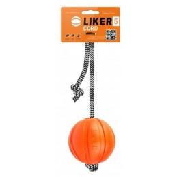Liker Cord 5cm - Piłka na linie dla psów małych ras