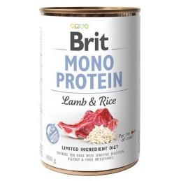 Brit Mono Protein Lamb&Rice...